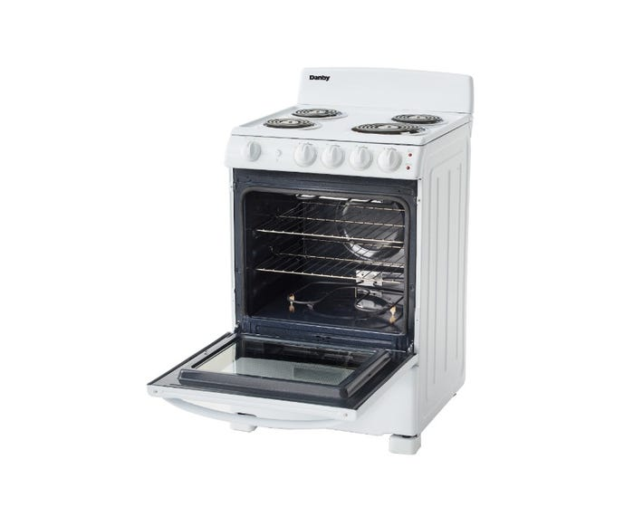 "Danby 24"" 2.9 cu. ft. Electric Range in White-DER244WC"
