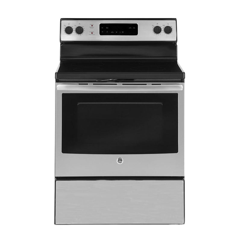 GE 5.0 Cu. Ft. Freestanding Electric Range – JCBS630SKSS