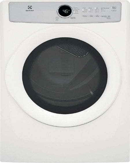 Electrolux 8.0 Cu. Ft. Front Load Electric Dryer- EFDC317TIW