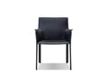 Mobital Arm Chair Black Fleur Arm Chair Full Leather Wrap - Available in 4 Colours