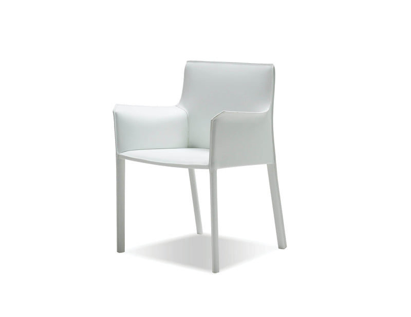 Pending - Mobital Arm Chair Fleur Arm Chair Full Leather Wrap - Available in 4 Colours