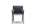 Mobital Arm Chair Grey Fleur Arm Chair Full Leather Wrap - Available in 4 Colours
