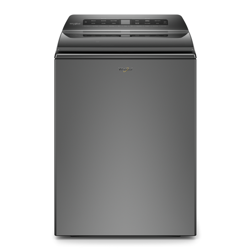 Whirlpool 5.4 cu. ft. Top Load Washer Chrome Shadow-WTW5105HC