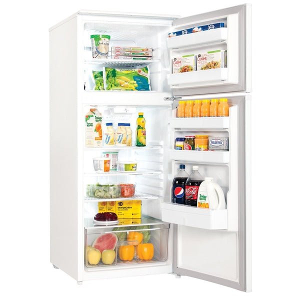 Danby White Top_Freezer Refrigerator (11 Cu. Ft.) - DFF110A1WDB1