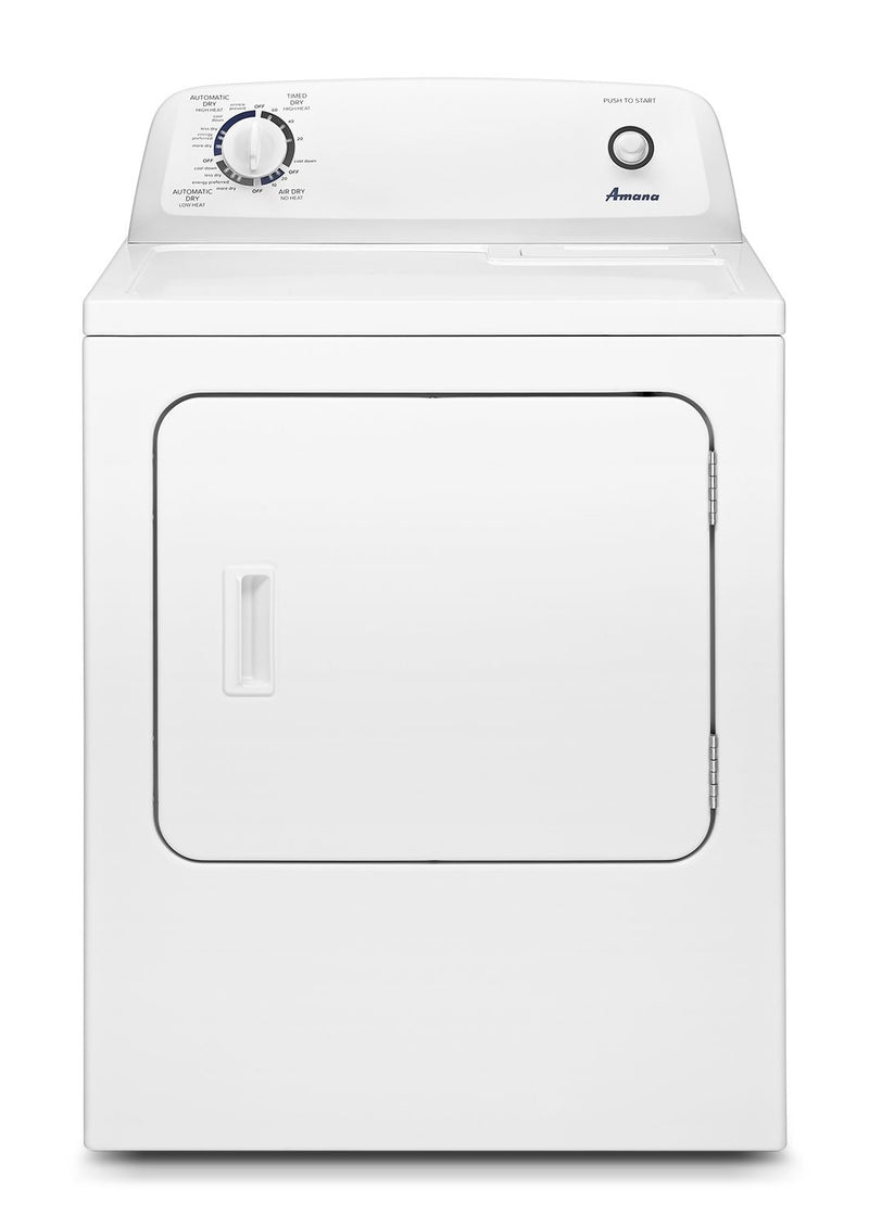 Amana White Electric Dryer (6.5 Cu. Ft.) - YNED4655EW
