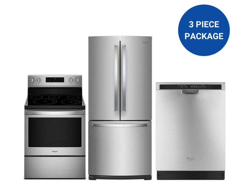 Whirlpool 3-Piece Savings Kitchen Appliance Package