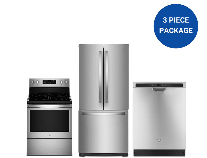 Whirlpool 3-Piece Kitchen Appliance Package