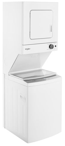 Whirlpool 1.9 Cu. Ft. Electric Washer & Dryer Laundry Centre (YWET4024HW) - White