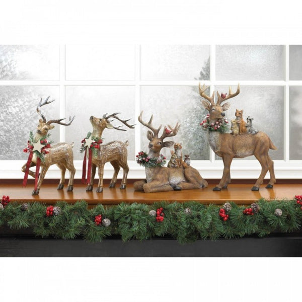 Rustic Holiday Doe Reindeer