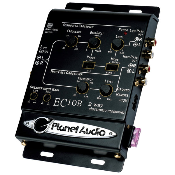 Planet Audio 2-way Electronic Crossover