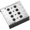 Power Acoustik 3-way Electronic Crossover With Remote Dash-mount Bass Knob Control
