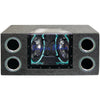 "Pyramid Dual Bandpass System With Neon Accent Lighting (10"" 1000 Watts)"