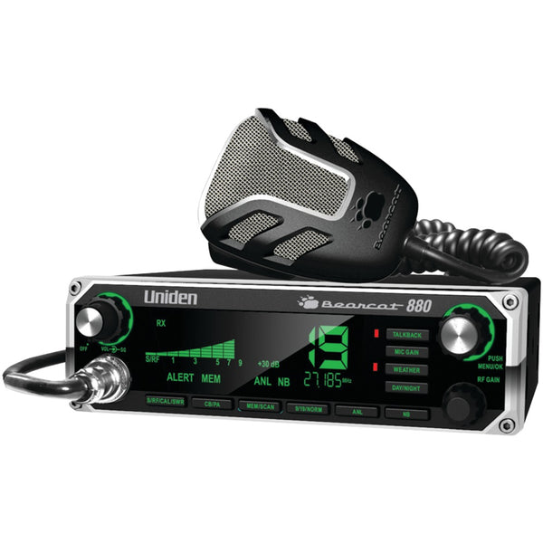 Uniden 40-channel Bearcat 880 Cb Radio With 7-color Display Backlighting