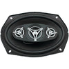 "Power Acoustik Edge Series Coaxial Speakers (6"" X 9"" 4 Way 800 Watts Max)"