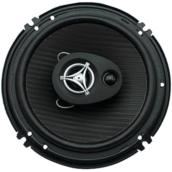 "Power Acoustik Edge Series Coaxial Speakers (6.5"" 3 Way 400 Watts Max)"