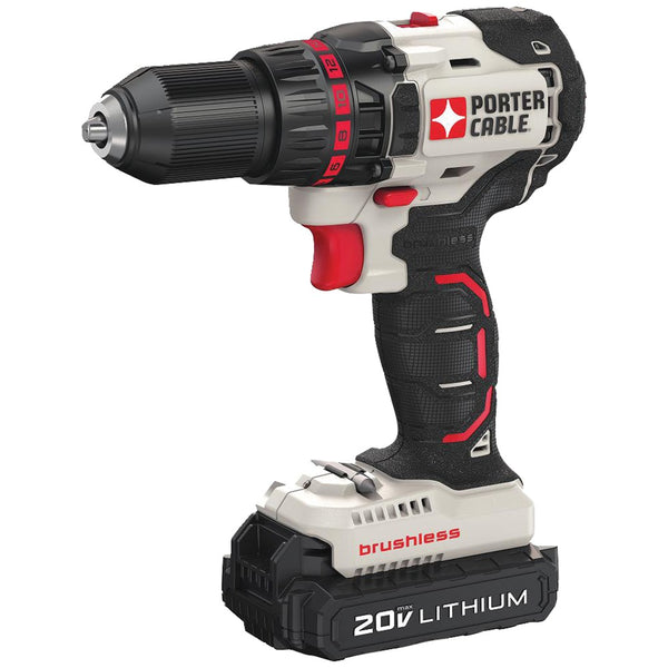 Porter-cable 20-volt Max* Compact Cordless & Brushless Drill