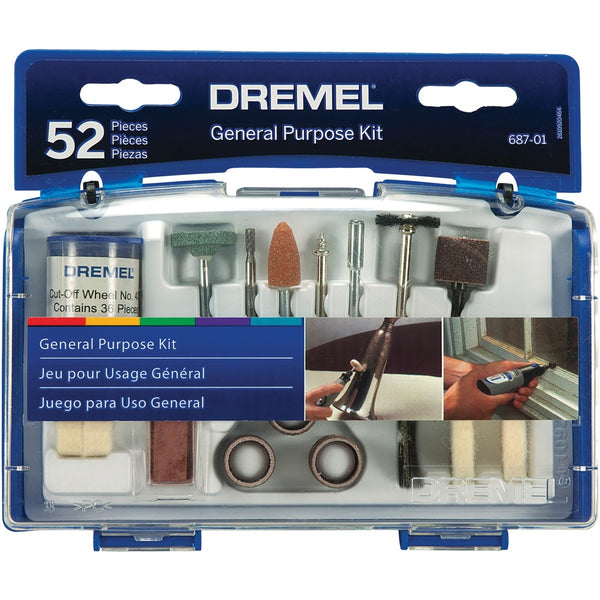 Dremel 687-01 General-purpose Accessory Set