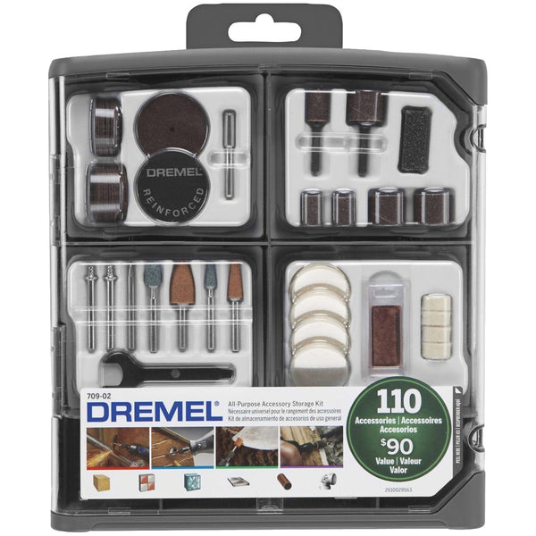 Dremel 110-piece All-purpose Accessory Storage Kit