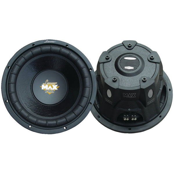 "Lanzar Maxpro Series Small 4ohm Dual Subwoofer (12"" 1600 Watts)"