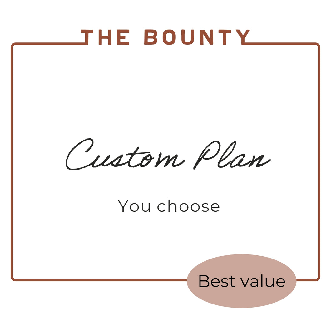 THE CUSTOM BOUNTY