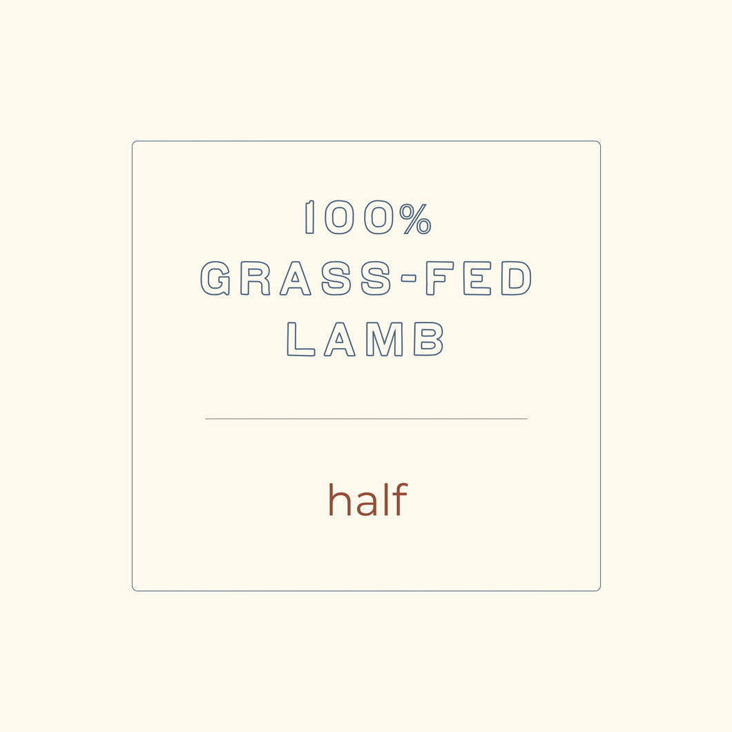 Half Lamb - Seasonal