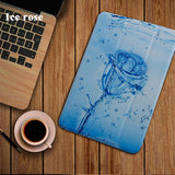 Leather Stand Cover with Smart Auto Sleep For iPad2 iPad3 iPad4