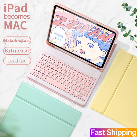 Bluetooth Keyboard Mouse Case for iPad Pro 11 2020 2018 2th generation