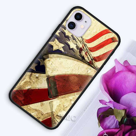 American US Flag iPhone Case