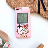 Hello Kitty Cute Cartoon Game Console Integrated iPhone Case