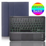 TouchPad Keyboard Case for iPad 10.2 2019 iPad 9.7 2017 2018 Air 1 2 3 Pro
