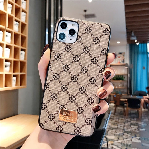 Luxury Brand Fashion iPhone Case