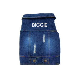 DENIM PET VEST