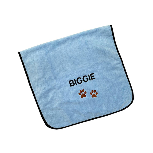 BLUE PET TOWEL