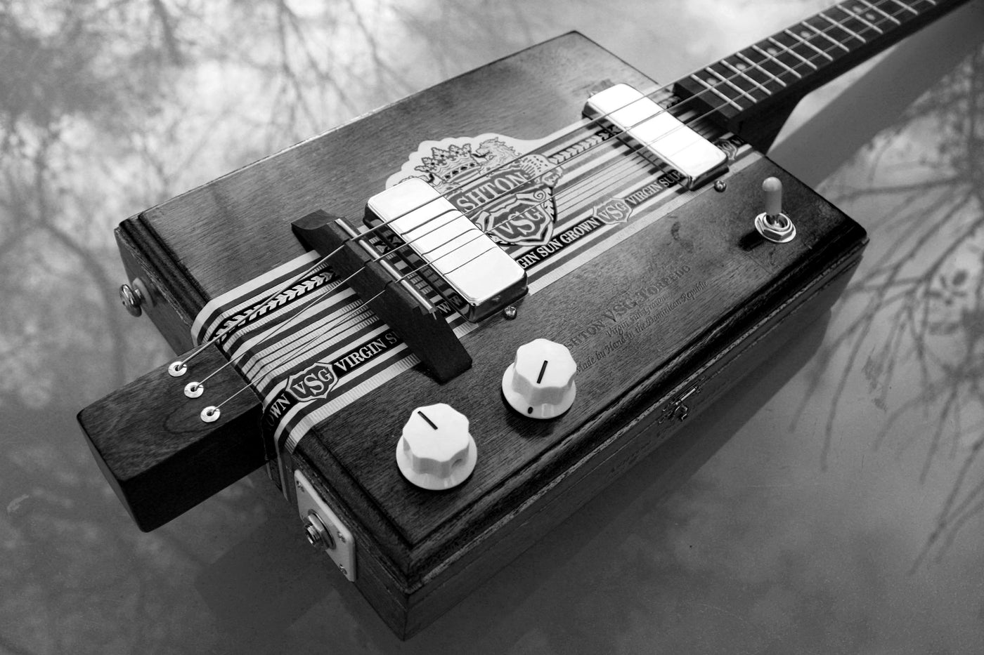 Chickenbone John - The Godfather of The Cigar Box Guitar ...