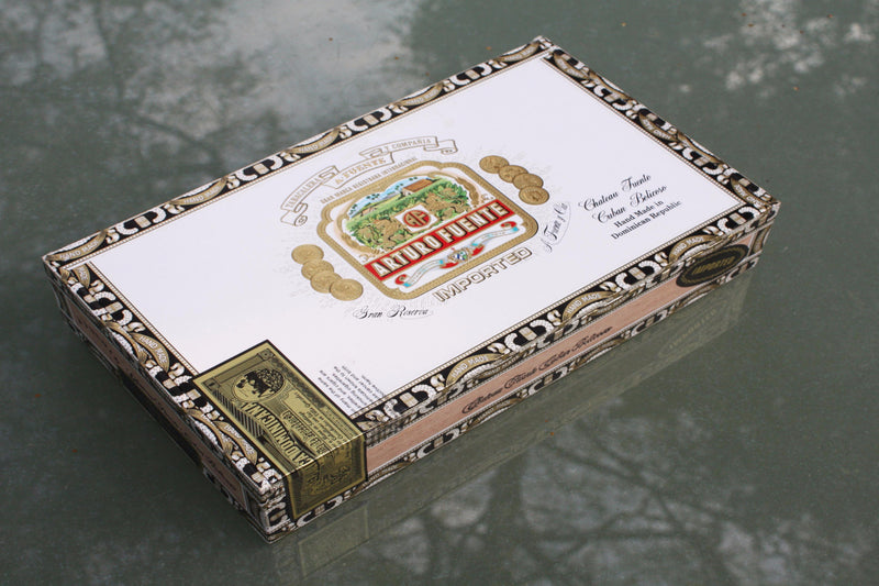 Arturo Fuente cigar box made in the Dominican Republic.