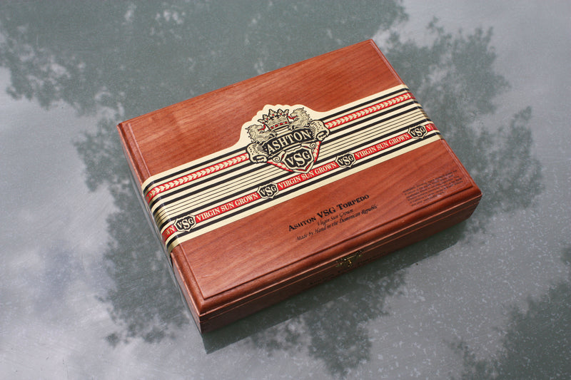 Ashton VSG Cigar Box