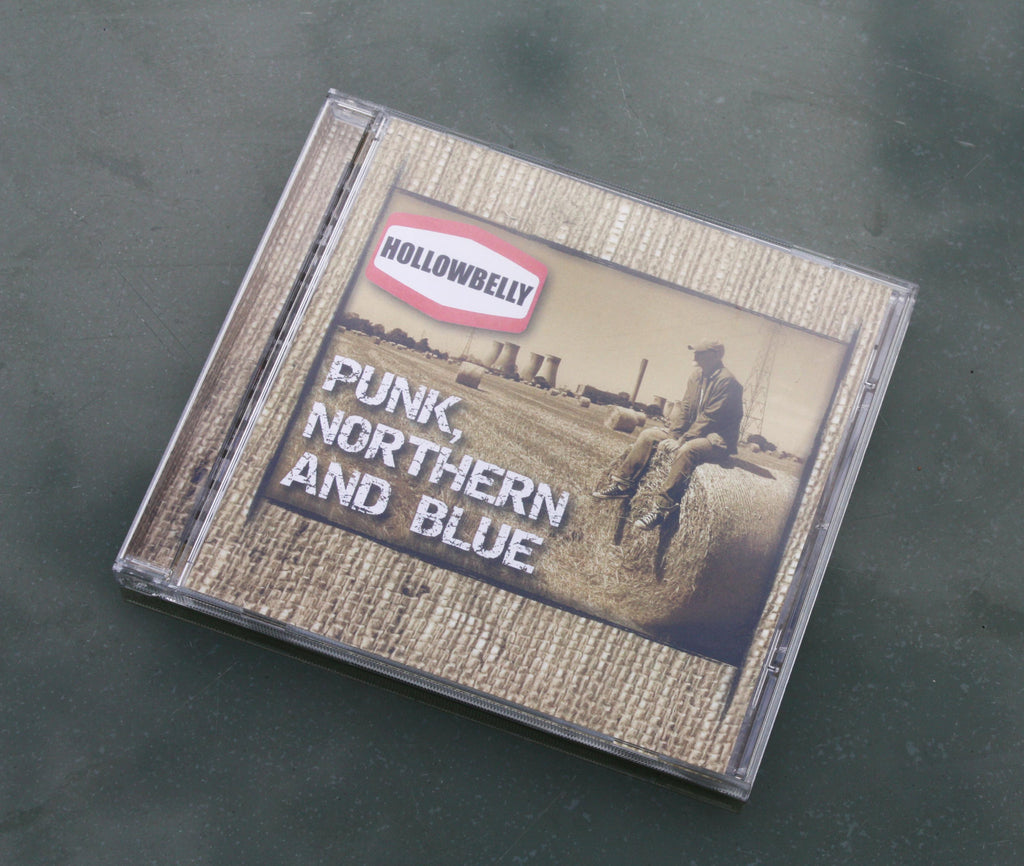 "Hollowbelly - ""Punk, Northern and Blue"" featuring 16 tracks."