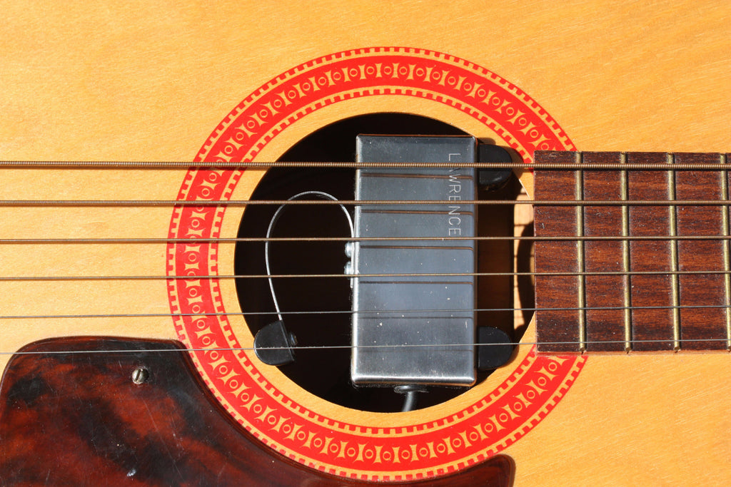 Bill Lawrence A-300 Acoustic Pickup on Guitar