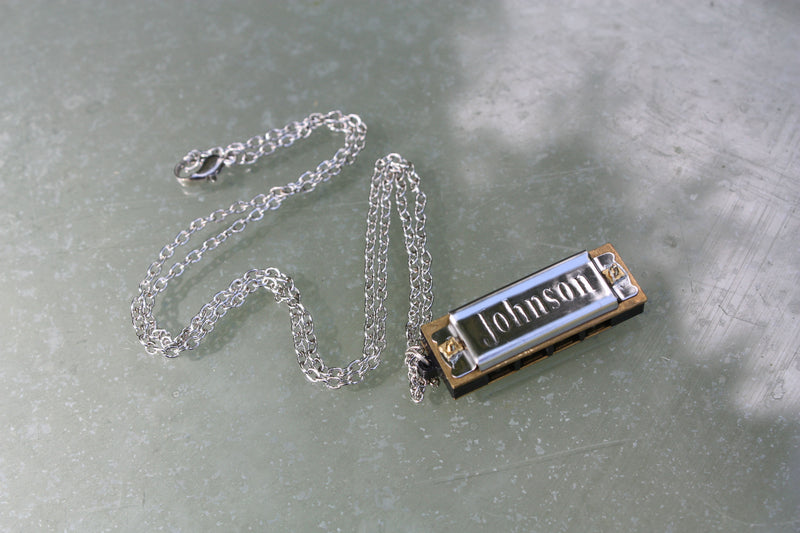 Mini Harmonica Necklace
