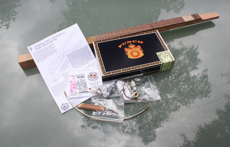 Punch Cigar Box Guitar Kit