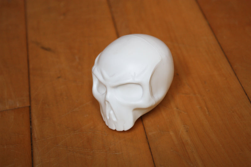 Skull Shakers available in white.