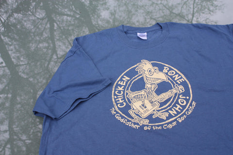 ChickenboneJohn Tee Shirt - Blue