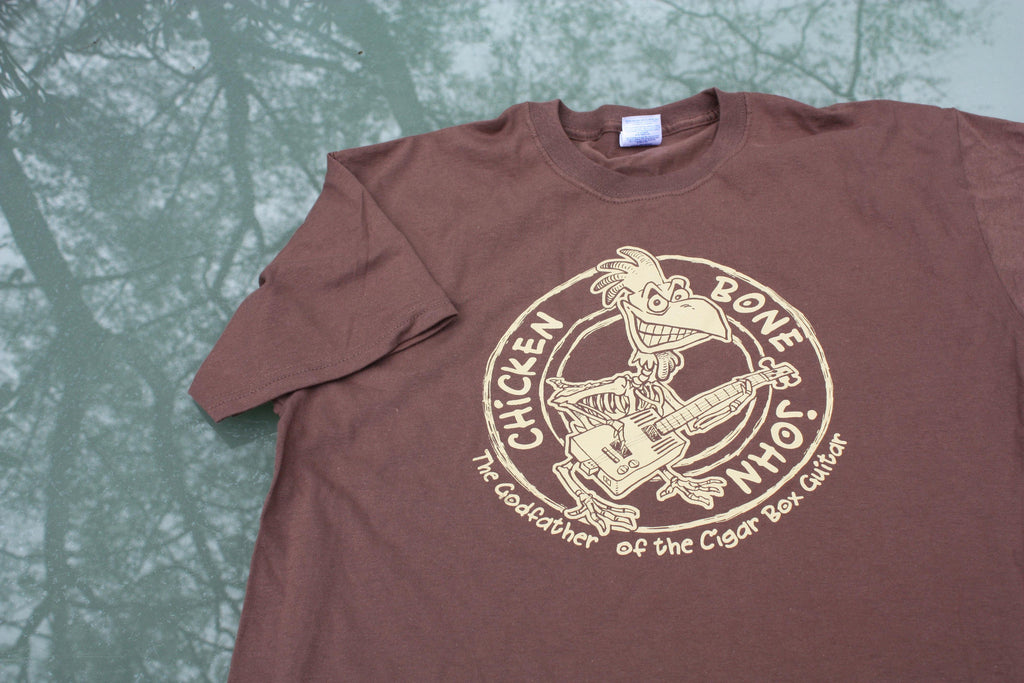 ChickenboneJohn Tee Shirt - Brown