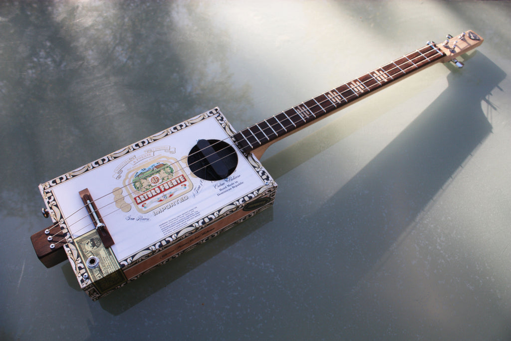 Workshop Series Super , Arturo Fuente - 3 String Cigar Box Guitar