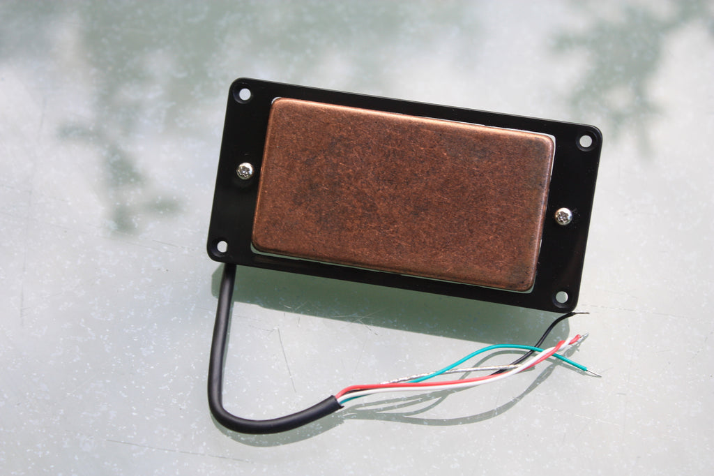Artec aged copper humbucker