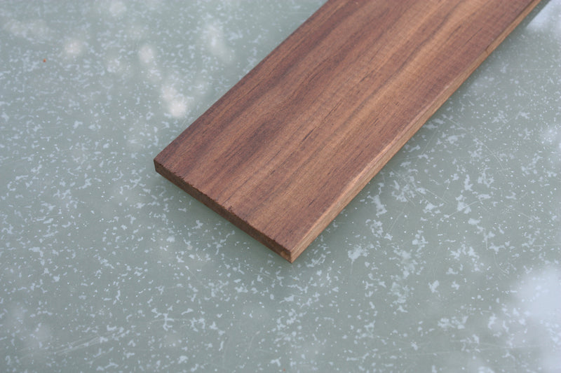 Blackwood Tek Fretboard, blank for 6 string guitars.