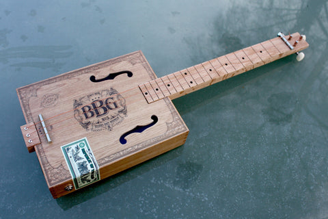 Chickenbone John - The Godfather of The Cigar Box Guitar
