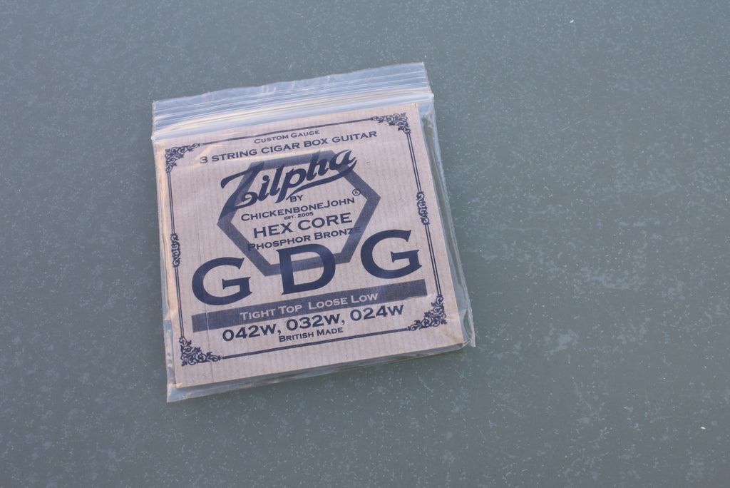 "Zilpha Strings - ""Tight Top, Loose Low"" GDG (Phosphor Bronze)"