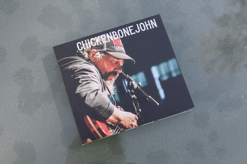 "ChickenboneJohn  ""ChickenboneJohn"" CD featuring 14 tracks."