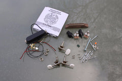 Cigar Box Guitar Hardware Pack - Electric pickup 'Deluxe' pack